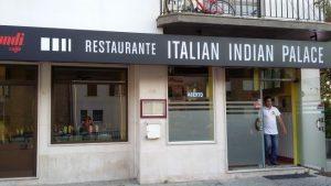 Restaurant Italian Indian Palace